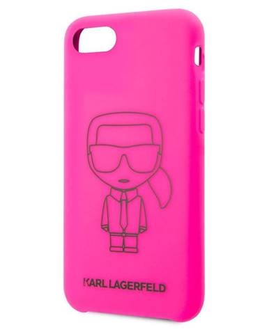Kryt na mobil Karl Lagerfeld Iconic na Apple iPhone 8/SE