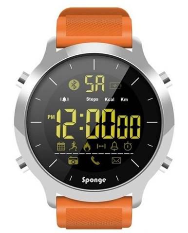 Inteligentné hodinky Sponge Smartwatch Surfwatch oranžový