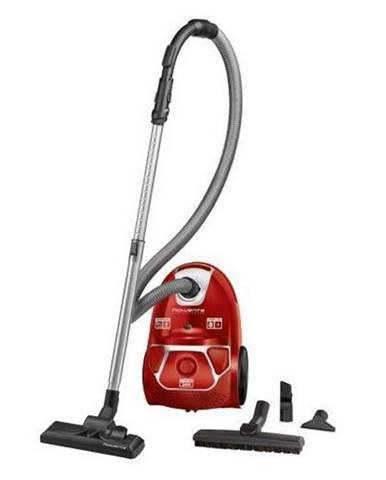Podlahový vysávač Rowenta Compact Power Parquet Ro3953ea červen