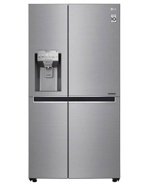 LG Americká chladnička LG Gsl960pzvz Platinum Silver