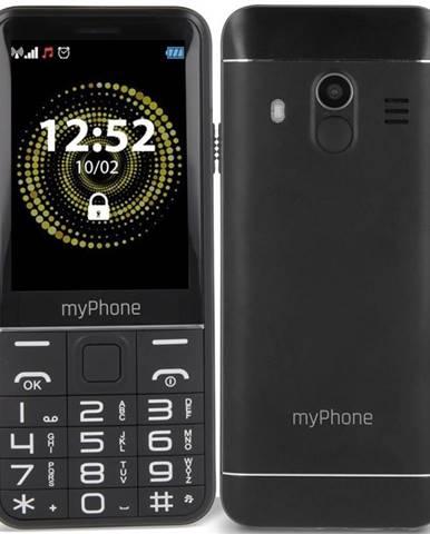 Mobilný telefón myPhone Halo Q Senior čierny