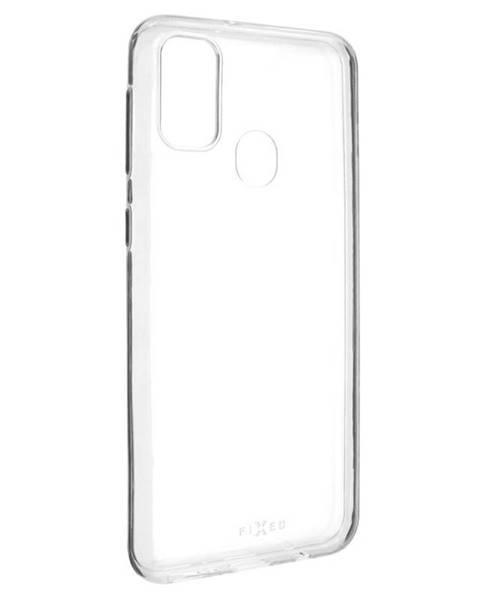 FIXED Kryt na mobil Fixed Skin na Samsung Galaxy M21 priehľadný