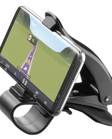 Držiak na mobil CellularLine Pilot View čierny