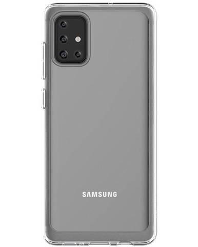Kryt na mobil Samsung na Galaxy A71 priehľadný