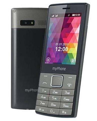 Mobilný telefón myPhone 7300 Dual SIM čierny/strieborný