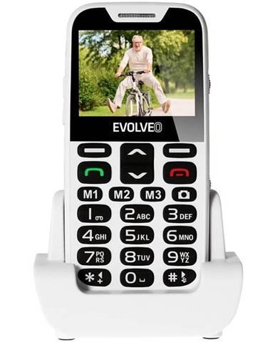 Mobilný telefón Evolveo Evolveo EasyPhone XD pro seniory biely