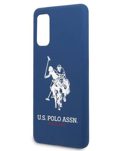 Kryt na mobil U.S. Polo na Samsung Galaxy S20 modrý
