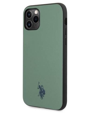 Kryt na mobil U.S. Polo Wrapped Polo na Apple iPhone 11 Pro zelený