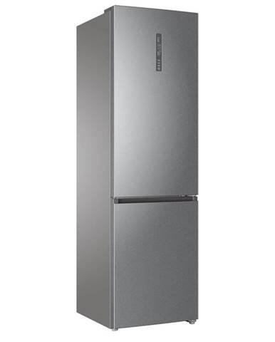 Kombinácia chladničky s mrazničkou Haier C3fe837cgj Titanium