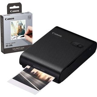 Fototlačiareň Canon Selphy Square QX10 + fotopapiere 20 ks čierna