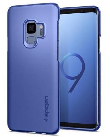 Kryt na mobil Spigen Thin Fit na Samsung Galaxy S9 - coral blue