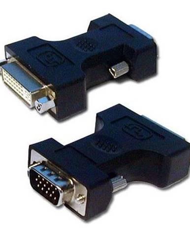 Redukcia Lama VGA/DVI, M/F čierna