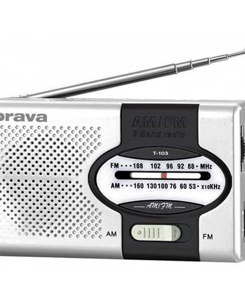 Orava Rádioprijímač Orava T-103 čierny/strieborn