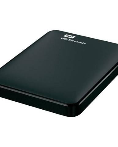 Externý pevný disk Western Digital Elements Portable 750GB čierny