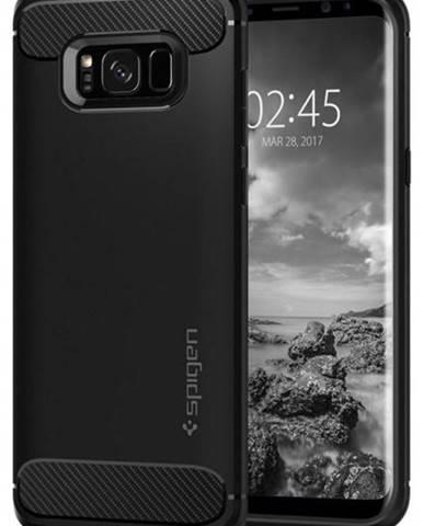 Kryt na mobil Spigen Rugged Armor Samsung Galaxy S8+ čierny