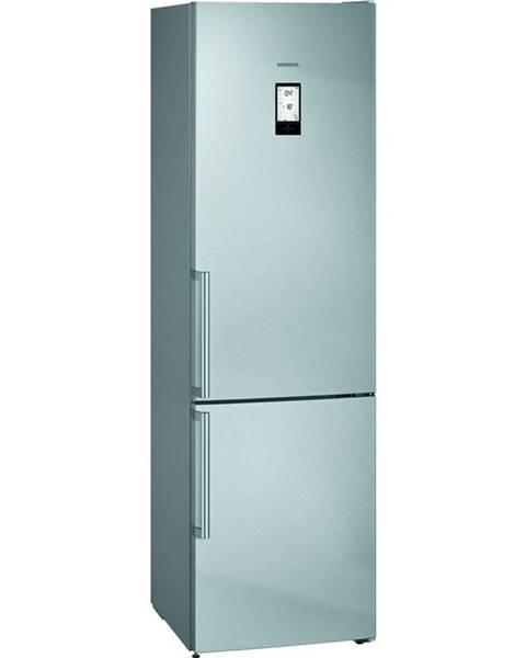 Siemens Kombinácia chladničky s mrazničkou Siemens iQ500 Kg39naidp nerez