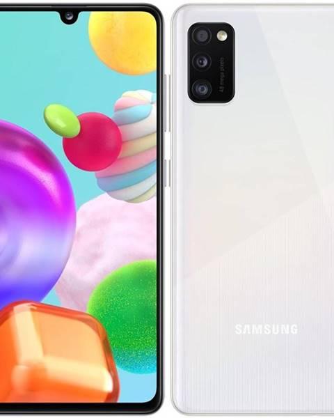 Samsung Mobilný telefón Samsung Galaxy A41 Dual SIM biely