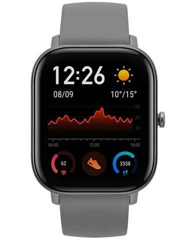 Inteligentné hodinky Amazfit GTS sivé