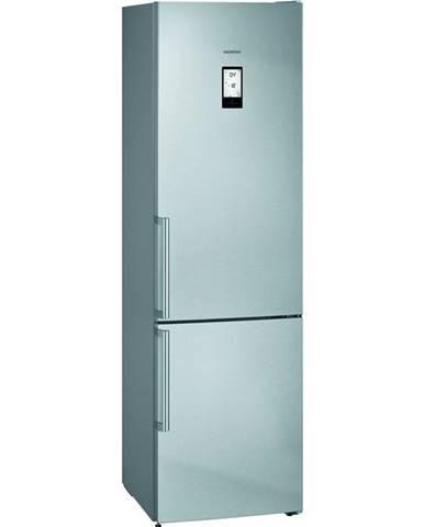 Kombinácia chladničky s mrazničkou Siemens iQ500 Kg39naidp nerez