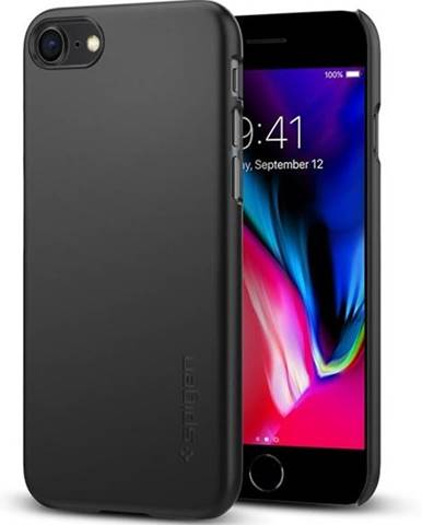 Kryt na mobil Spigen Thin Fit Apple iPhone 8 čierny