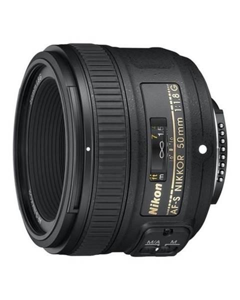 Nikon Objektív Nikon Nikkor 50 mm f/1.8G AF-S čierny