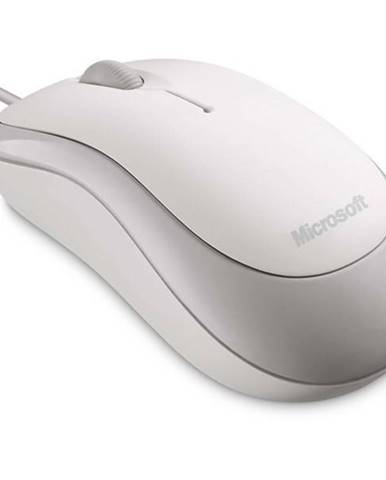 Myš  Microsoft Basic Optical biela / optická / 3 tlačítka / 800dpi