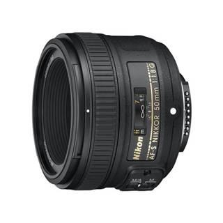 Objektív Nikon Nikkor 50 mm f/1.8G AF-S čierny