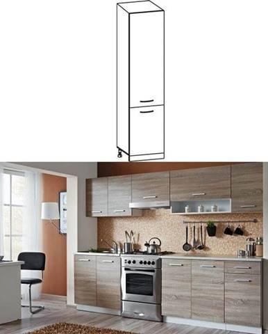 Potravinová skrinka do kuchyne dub sonoma/biela CYRA NEW S-50