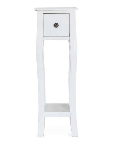 Kondela Toaletný stolík/toaletka biela WAGNER 3