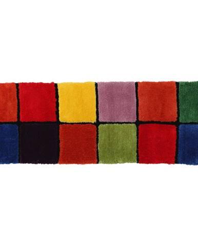 Koberec červená/zelená/žltá/fialová 70x210 LUDVIG TYP 4