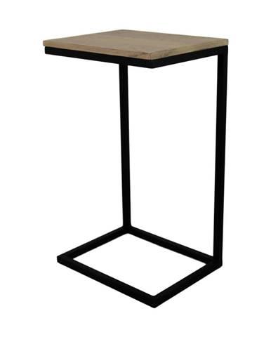 Odkladací stolík z mangového dreva HSM Collection Read