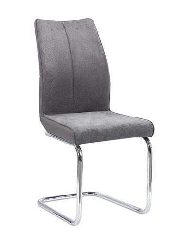 Jedálenská stolička Taupe sivohnedá/sivá FARULA