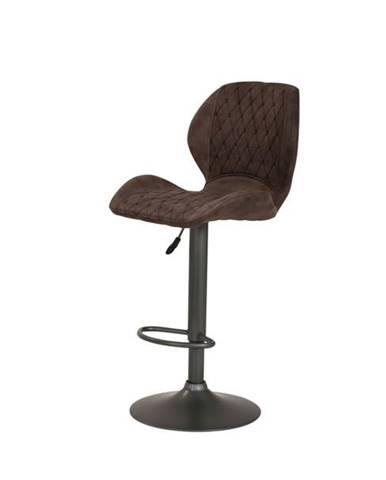 Barová stolička SONJA H vintage hnedá
