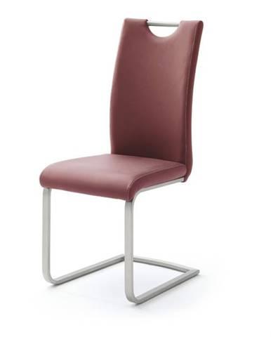 Jedálenská stolička PIPER bordó