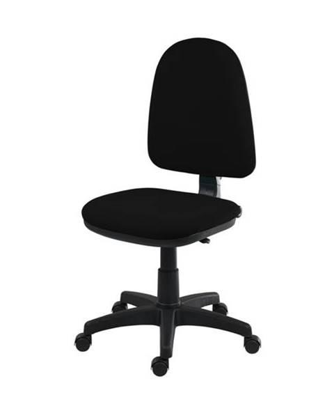 Sconto Otočná stolička ELKE čierna
