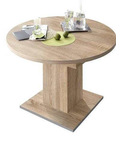 Jedálenský stôl RUND 104 1010 dub sägerau