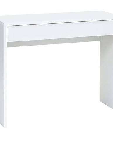 Písací stôl CHECKER biela
