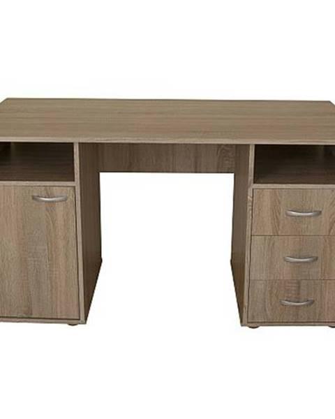 Sconto Písací stôl KUBA dub sonoma