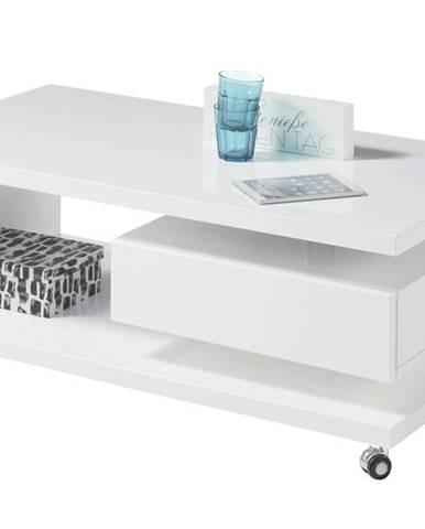 Konferenčný stolík MILAN biela