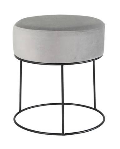 Stolička OHORN sivá/čierna