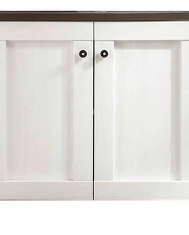 Umývadlová skrinka ANTWERPEN 36-258 smrekovec/pínia