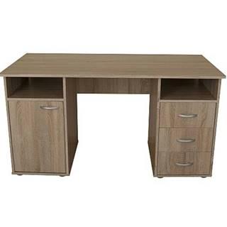 Písací stôl KUBA dub sonoma