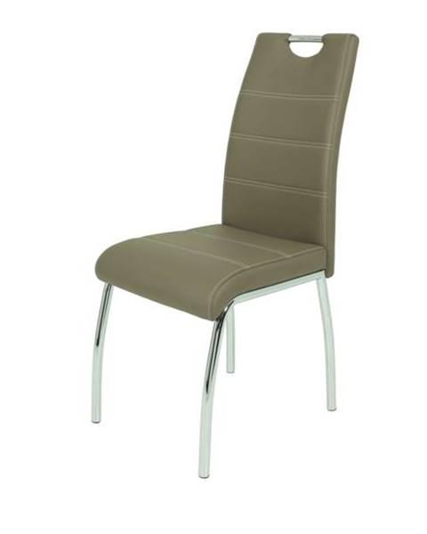 Sconto Jedálenská stolička SUSI S hnedá
