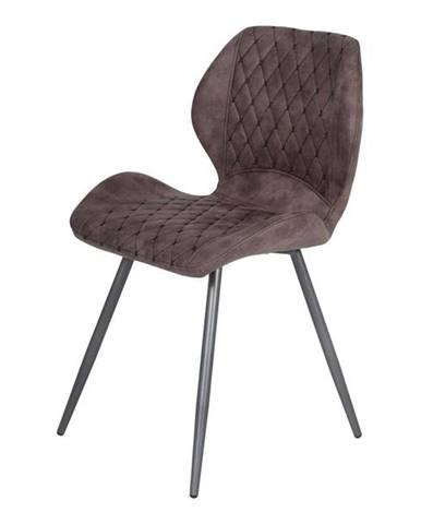 Jedálenská stolička AURORA S vintage hnedá