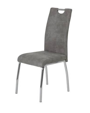 Jedálenská stolička SUSI S vintage sivá
