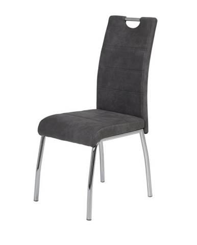 Jedálenská stolička SUSI S antracitová