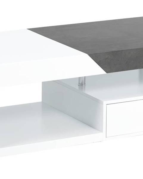 Sconto Konferenčný stolík TARAGONA biela