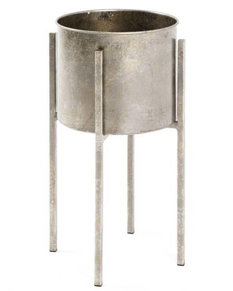 Sconto Odkladací stolík/kvetináč GINA výška stola 51 cm/ø 27 cm