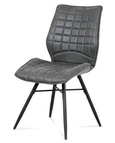 Jedálenská stolička AKIRA sivá