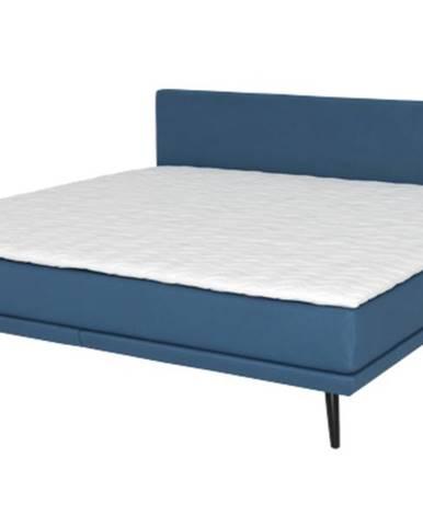 Posteľ GALANT modrá, 180x200 cm